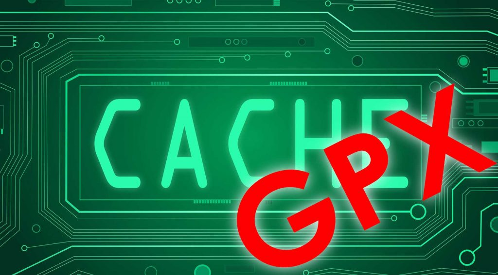 Track of the da mit GPX-Cache
